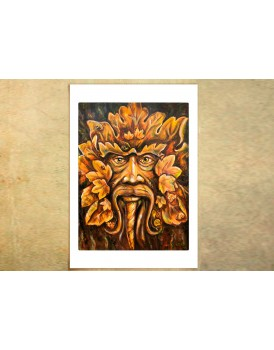 Ancient Spirit, Indian Chief - Limited Edition Print