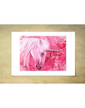 Humble Unicorn - Limited Edition Print