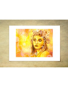 A4 The Spirit within  - Limited addition Print