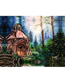 Fairy House - Canvas Print