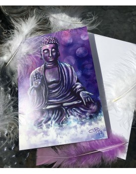 Serenity Buddha Greeting card