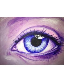 Angel Eye  - Canvas Print