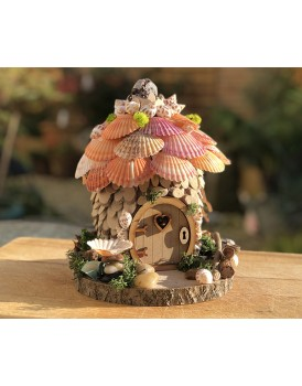 Summer - Shell fairy Cottage - from the Natural Fairy Range
