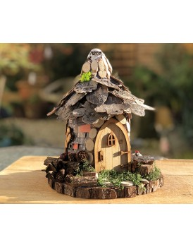 Spring - Leaf fairy Cottage - from the Natural Fairy Range