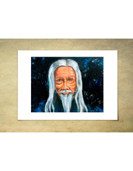 A4 Mystic selfie  - Limited addition Print
