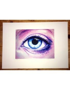 Angel Eye Limited edition Print
