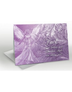 Trust your Angels - A5 Greetings card