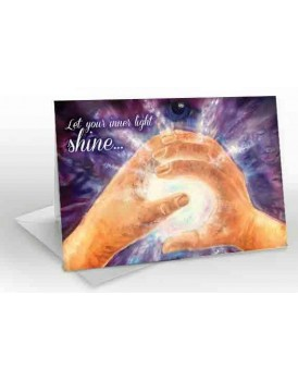 Inner Light - A5 Greetings card